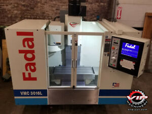 Fadal Vmc3016l Cnc Vmc Super Clean Full Pm With Many Upgrades