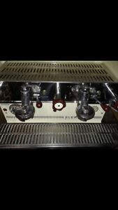 2 Group Espresso Machine Elektra Barlume For Parts Only