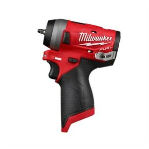 Milwaukee Electric Tools 2552 20 M12 Fuel Stubby 1 4in Impact Wrench Bare