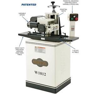 Shop Fox W1812 2 Hp 7 Planer Moulder With Stand new In Box