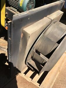 Chicago Centrifugal Blower 10 Hp Model 30 Not Complete No Motor