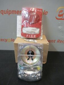 Simplex 4906 9151 Wall Mount Speaker Strobe Fire Alarm New
