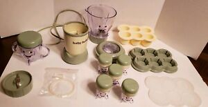 Magic Bullet Baby Bullet 20pcs The Complete Baby Food Making System EXCELLENT!!!