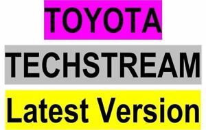25 02 2019 Most Latest Toyota Techstream V14 00 018 For Mini Vci