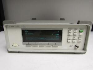 Agilent 86120c Multi wavelength Meter 1270nm To 1650nm