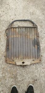 1929 Packard Radiator Core Support With Louvers Winterfront 1939 1940 Lasalle