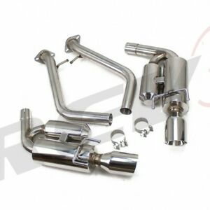 Rev9 Stainless Flowmaxx Axle Back Exhaust Kit Fit 14 18 Is200t Is250 Is300 Is350