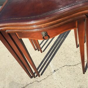 Vintage Mid Century 3 In 1 Nesting Tables