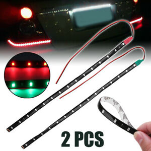 2x Led Strip Light Red Green For Bow Boat Marine Navigation Light 12 Waterproof