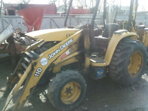 2007 John Deere 110 4x4 Compact Tractor Loader Backhoe Coming Soon