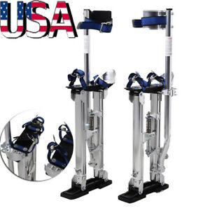 Drywall Stilts Painters Walking Finishing Tool Adjustable 20 24 Aluminum Alloy