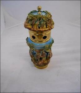 Nature 2 Draft Beer Tower Ceramic hand Crafted painted