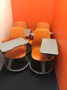 Steelcase Node Tripod Base With Worksurface Cupholder