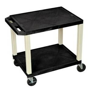 Tuffy Av Cart In Black And Putty id 57396