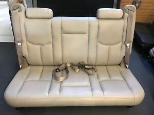 04 Suburban 3rd Row Leather Bench Seat Tan Neutral Can Only Ship To Us Business