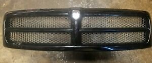 Front Hood Grille For 1994 1995 1996 1997 1998 1999 2000 2001 Dodge Ram 1500