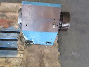 Miyano Jnc 60 Cnc Lathe Spindle Head Stock Assembly