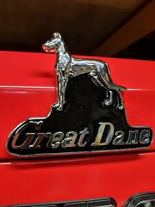 Great Dane Emblem Magnet perfect For Your Snapon Toolbox 4 3