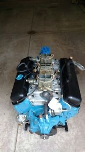 1968 427 435hp Chevrolet Corvette Engine Complete Tripower 3916321