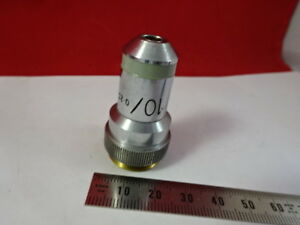 Vickers England Uk Objective 10x Optics Microscope Part As Pictured 5 a 53