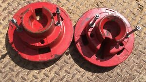 """A Pair Of 8"""" Front Garden Tractor Wheel Weights"""