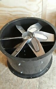 New Dayton 24 Tubeaxial Fan Direct Drive 4tm85 With 3ph 1hp Motor