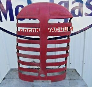 Massey Harris 44 Tractor Grille Grill Shell Mh Rat Rod Man Cave Rustic Decor