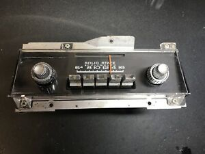 1967 1968 Plymouth Fury Am Radio With Knobs Mopar