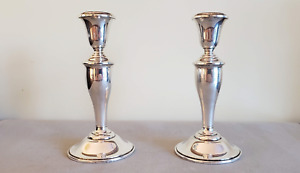 Gorham Weighted Candlestick Sterling Silver Hollowware