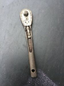 Usa Made 10 Craftsman Vintage 1 2 Drive Ratchet Craftsman H Pat Pending