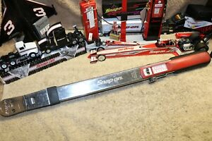 Snap On Torque Wrench Adj Click Type Fixed Ratchet 40 250 Ft Lb 1 2 Drive