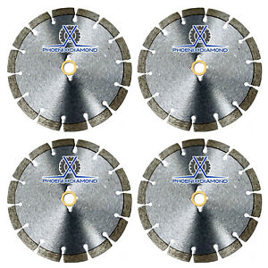 4pck 14 Wet dry Diamond Saw Blade All Purpose For Concrete Stone Brick Masonry