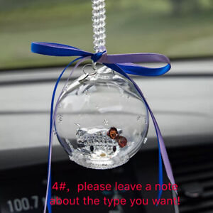 Hello Kitty Hanging Decoration Crystal Ball Car Truck For Girl Women Cartoon