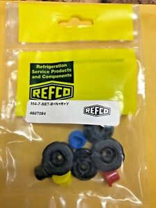 Refco 3 4 way Refco Manifolds Replacement Knob Set M4 7 set b n r y