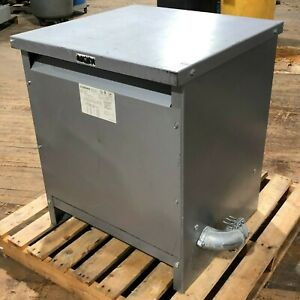 75kva Dongan 63 6375sh General Purpose Transformer 3ph 480v 208y 120v Can Ship
