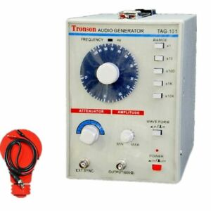 110v 220v Tag 101 Low Frequency Audio Signal Generator Source 10hz 1mhz 600