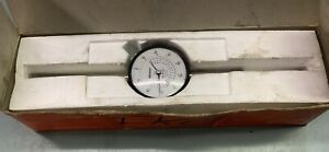 Mitutoyo 2424 10 Jeweled Dial Indicator 0 001 2 000