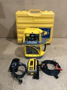Trimble Spectra Precision Laser Gl720 Dual Grade Laser With Hl700 Receiver