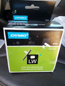 Dymo Price Tag Labels 2 up Jewelry Label 30299 New In Box 3 8 X 3 4 1500