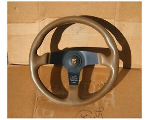 Vintage Suede Personal Fittipaldi Steering Wheel Fits Porsche Rsr 930 912 Sc