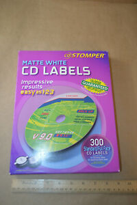 Avery Labels For Use With Cd Stomper Cd dvd White Matte