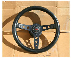 Vintage Momo Prototipo Rat Fits Porsche 901 911 912 St Rs Steering Wheel 355mm