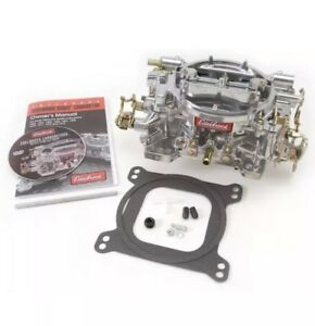 Edelbrock 1406 Performer Carburetor 600 Cfm Square Bore Electric Choke 4 Barrel