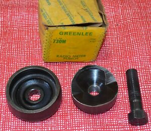 Greenlee 730m Knockout Punch Set Round Chassis 2 25 32