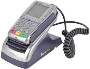 Verifone Vx810 Duet Credit Card Terminal Printer Base And Pin Pad Chip Reader