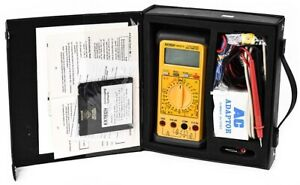 Extech 383274 Industrial Digital Datalogger Multimeter Kit W Accessories Case