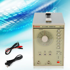 Rf High Accuracy Signal Generator Tsg17 High Frequency 100 Khz 150 Mhz 110v Usa