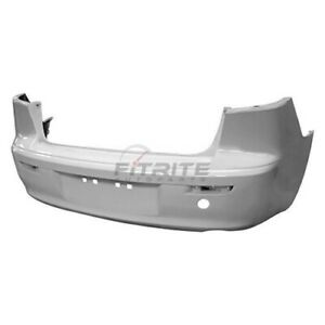 New Rear Bumper Cover Primed For 2008 2017 Mitsubishi Lancer Mi1100287c Capa