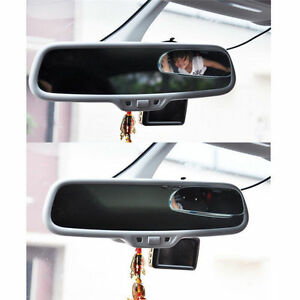 2x Universal Car 360 Wide Angle Rear Side Mirror Blind Spot Mirror Adjustable 1