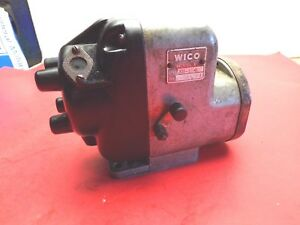 Wico Magneto Xh 184 Model X Case Cat Ihc Wisconsin Ac Farmall Massy Harris 4 Cyl